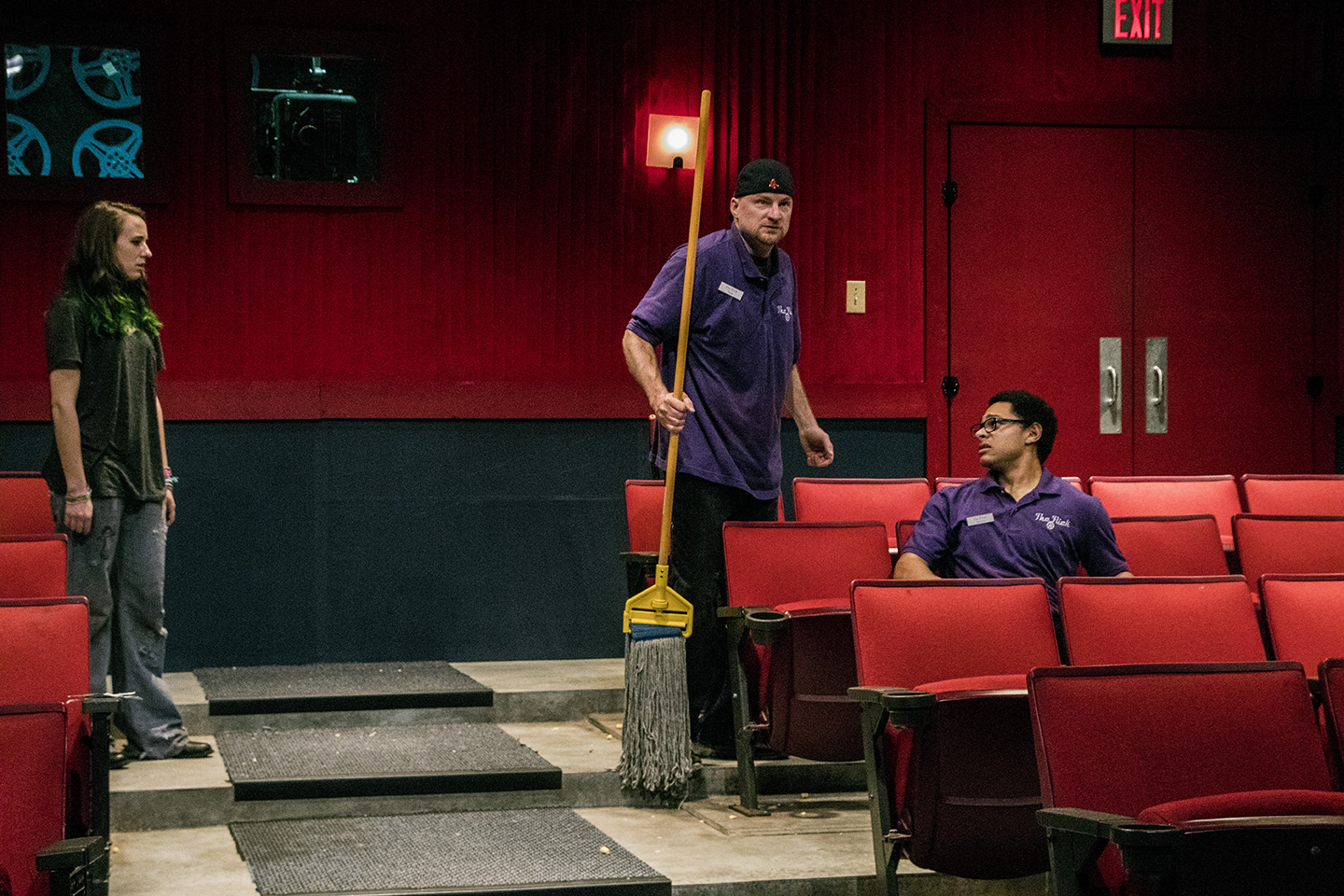 BWW Review: Compelling THE FLICK Unreels as a Must See Production at Dobama