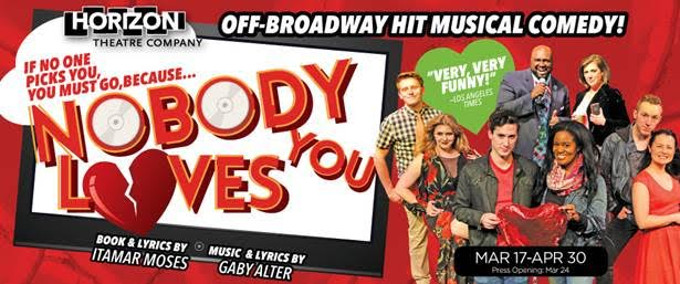 BWW Review: NOBODY LOVES YOU at Horizon Theatre Company