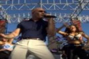 VIDEO: Pitbull Rocks Universal Orlando for TODAY Concert Series!