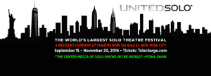 7th Annual United Solo Festival to Feature Over 120 Shows in NYC This Fall