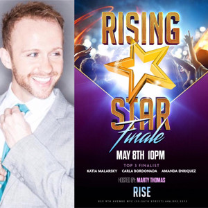 Frankie Grande, Mallory Hagan, and Antoine L. Smith Set to Judge Rising Star Competition on 5/8