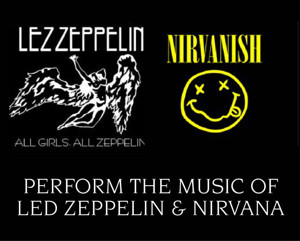 Lez Zeppelin and Nirvanish Tribute Bands Set for UCPAC