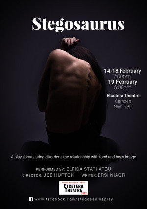 STEGOSAURUS Play Comes at Etcetera Theatre in Camden