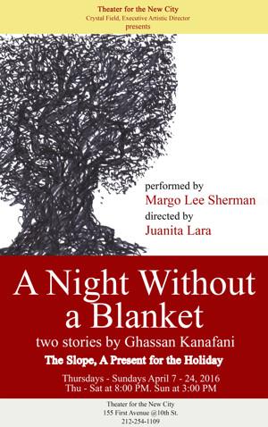 TNC to Host Night of Two Plays Based on Kanafani Short Stories