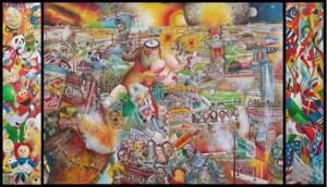 Artist Robert Cenedella Unveils Latest Work FIN DEL MUNDO in NYC Tonight