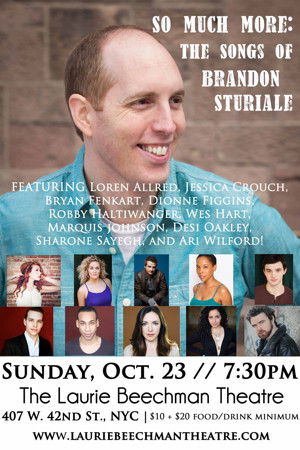 Wes Hart, Robby Haltiwanger and Marquis Johnson Join Brandon Sturiale CD Release Concert