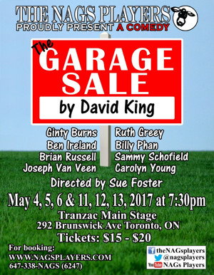 The NAGs Players present: THE GARAGE SALE by David King