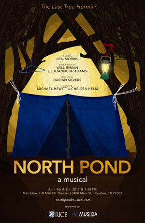 NORTH POND Premieres at Houston's Match Theater