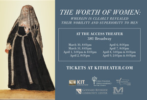 Kairos Italy Theater Presents US Premiere of THE WORTH OF WOMEN