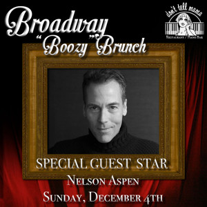 Nelson Aspen to Launch December Lineup at Don't Tell Mama's BROADWAY 'BOOZY' BRUNCH