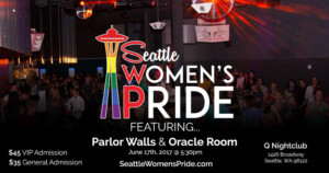 Honorees Announced for Seattle Women's Pride