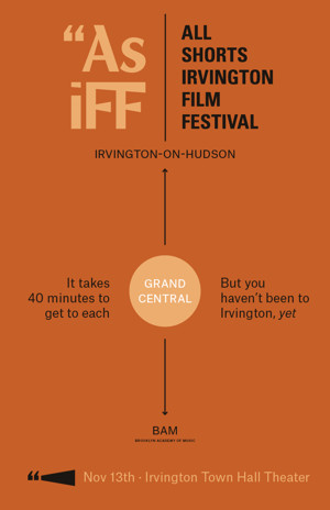 New 'As iFF' Festival to Celebrate Short Films in Irvington, NY, 11/13