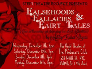 Celebrate the Holidays in the Twilight Zone with Step1 Theatre Project's UNUSUAL CHRISTMAS STORIES