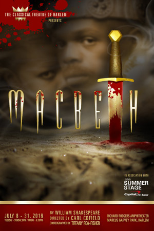Classical Theatre of Harlem to Present MACBETH, 7/8-31