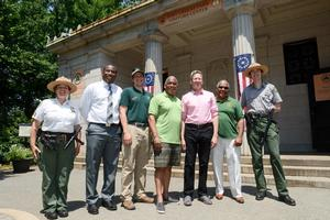 NYC Parks, Fort Greene Park Conservancy & Urban Park Rangers Reopen Visitor Center, Museum