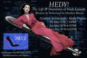 Midwest Premiere of HEDY! THE LIFE & INVENTIONS OF HEDY LAMARR Set for DivaFest 2017