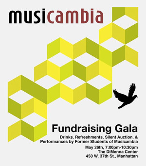 Musicambia Gala at Dimmena Center for Classical Music