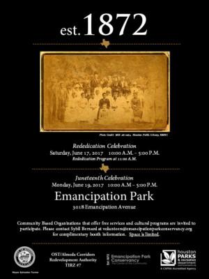 Image result for Re-Dedication Celebration at Emancipation Park
