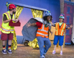 Surprise! Those Bay Area Children's Theatre Construction Vehicles are Back!