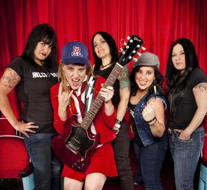 AC/DC Tribute Band Hell's Belles Comes to the Fox Theatre, 6/28