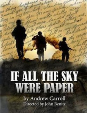 Critically-Acclaimed 'IF ALL THE SKY WERE PAPER' to perform at LOBERO THEATRE in Santa Barbara on WEDNESDAY, NOVEMBER 11 at 7:30pm!