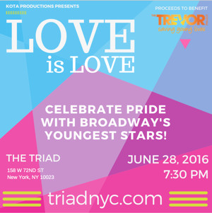 LOVE IS LOVE Benefit Set for The Triad, 6/28