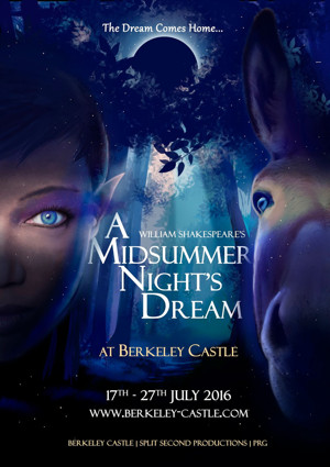 A MIDSUMMER NIGHT'S DREAM to Return to Original Home at Berkeley Castle This Summer