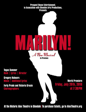 BWW Exclusive: New Marilyn Monroe Musical to Receive One-Night-Only Premiere in Glendale