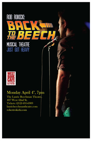 Rob Rokicki Headed 'BACK TO THE BEECH' with Joe Iconis and More