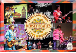 Mersey Beatles Celebrate 50th Anniversary of SGT PEPPER'S LONELY HEARTS CLUB BAND at The Epstein Theatre