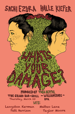 Sachi Ezura and Halle Kiefer to Host WHAT'S YOUR DAMAGE at The Grand