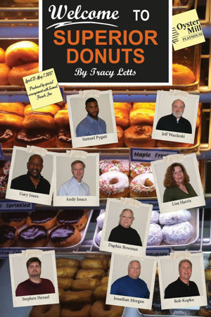 Oyster Mill Playhouse to Present Tracy Letts Comedy SUPERIOR DONUTS