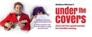 Matthew Mitcham Goes UNDER THE COVERS at Hayes Theatre Co
