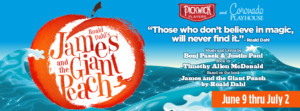 Coronado Playhouse and Pickwick Players present JAMES AND THE GIANT PEACH