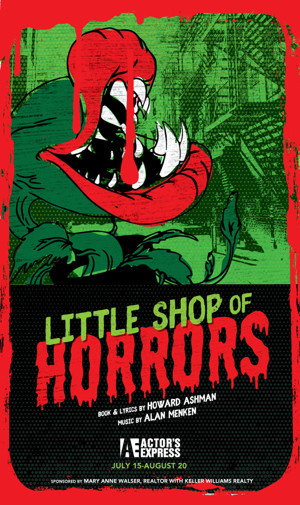 Actor's Express to Stage LITTLE SHOP OF HORRORS Next Summer