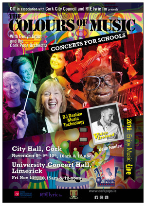 Evelyn Grant and the Cork Pops Orchestra to Present THE COLOURS OF MUSIC