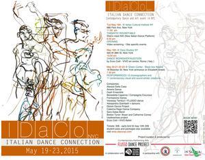 Italian Dance Connection New York City Announces 2015 Events, 5/19-23