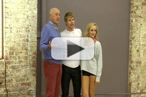 VIDEO: Sneak Peek - Derek Hough Returns to Tonight's DWTS & Channels Len Goodman!