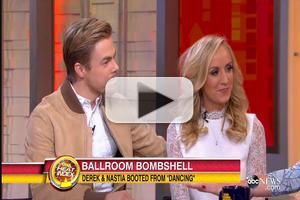 VIDEO: Nastia Liukin & Derek Hough Talk Unexpected Elimination From 'DWTS'