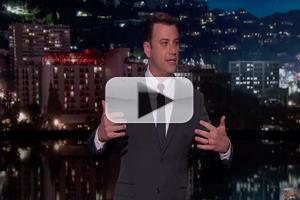 VIDEO: Jimmy Kimmel Gives Emotional Farewell to DAVID LETTERMAN