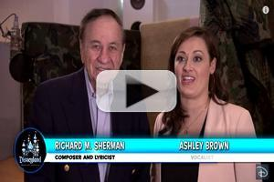 VIDEO: Richard M. Sherman, 'Mary Poppins' Ashely Brown Talk New 'Disneyland Forever' Fireworks Soundtrack