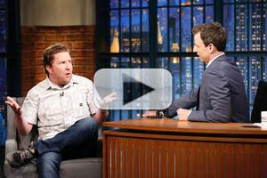 VIDEO: Funny Man Nick Swardson Visits LATE NIGHT