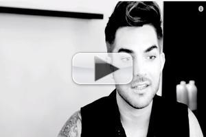 VIDEO: Adam Lambert Takes You Behind-the-Scenes of 'Ghost Town' Music Video