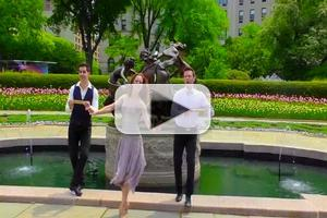 STAGE TUBE: Heather Parcells Celebrates 'Eliza Doolittle Day' with 'Loverly' NYC Escapades