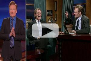 VIDEO: Conan O'Brien Tributes Letterman; Asks Viewers to 