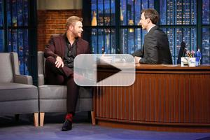 VIDEO: Kellan Lutz Talks New TV Competition 'Bullseye' on LATE NIGHT