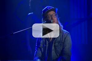 VIDEO: Allen Stone Performs 'Freedom' on LATE NIGHT