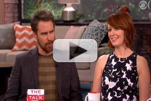 VIDEO: Sam Rockwell & Rosemarie Dewitt Chat 'Poltergeist' Reboot on THE TALK