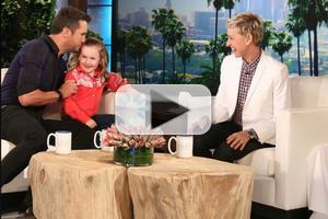 VIDEO: Luke Bryan Takes On 5-Year-Old Presidential Expert on ELLEN