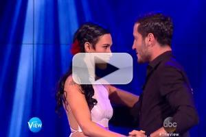 VIDEO: DWTS' Champs Rumer Willis & Val Chmerkovskiy Perform on THE VIEW